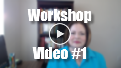 Workshop Video 1